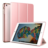 Rose Gold Leather Folio Case with Smart Cover (iPad Pro 12.9-inch 2018)