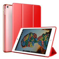 Red Leather Folio Case with Smart Cover (iPad Air 10.5-inch 2019)