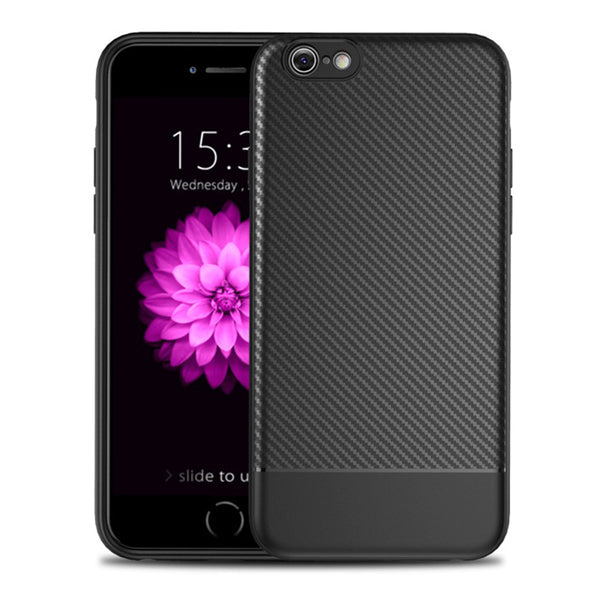 Black Carbon Fiber Case (iPhone 6/6+)