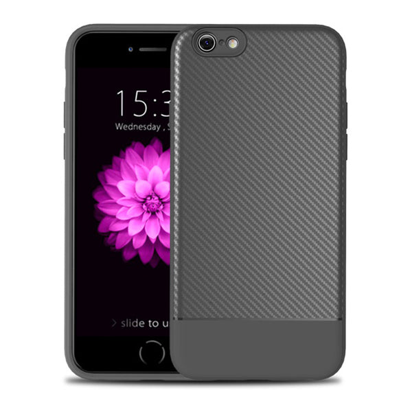 Grey Carbon Fiber Case (iPhone 6/6+)