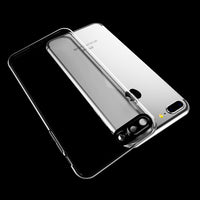 Black Camera Trim Clear Case (iPhone 7+/8+)
