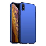 Metallic Navy Hard Case (iPhone X/Xs)