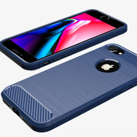 Navy Brushed Metal Case (iPhone 7/8/SE 2020)