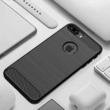 Black Brushed Metal Case (iPhone 7+/8+)