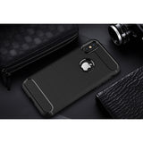 Black Brushed Metal Case (iPhone X/Xs)
