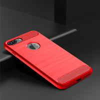 Red Brushed Metal Case (iPhone 7+/8+)