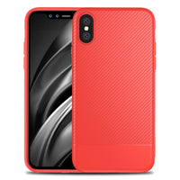 Red Carbon Fiber Case (iPhone Xs Max)