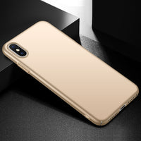 Metallic Gold Hard Case (iPhone Xs Max)