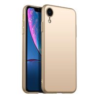 Metallic Gold Hard Case (iPhone XR)