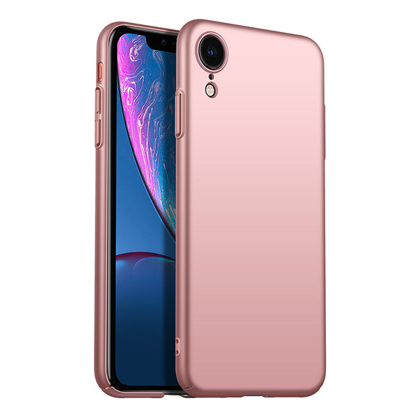 Metallic Rose Gold Hard Case (iPhone XR)