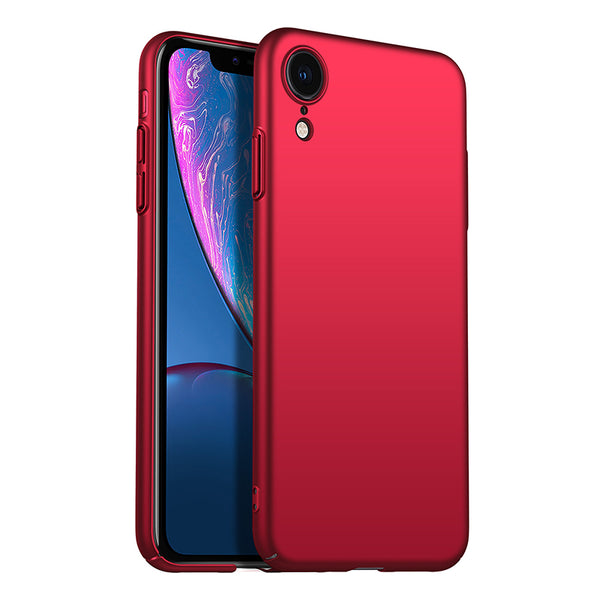 Metallic Red Hard Case (iPhone XR)
