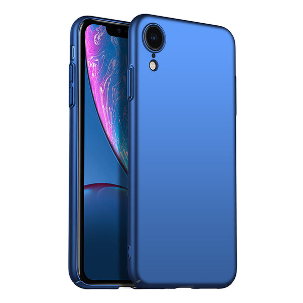 Metallic Navy Hard Case (iPhone XR)