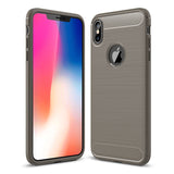 Grey Brushed Metal Case (iPhone X/Xs)