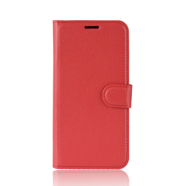 Red Leather Wallet Case (iPhone XR)