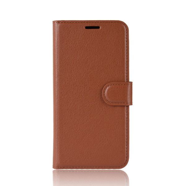 Brown Leather Wallet Case (iPhone Xs Max)