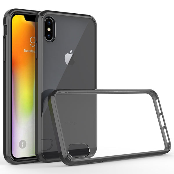 Acrylic Black Case (iPhone Xs Max)