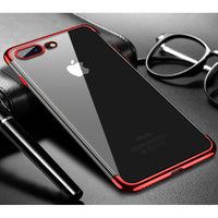 Red Trim Clear Case (iPhone 7+/8+)