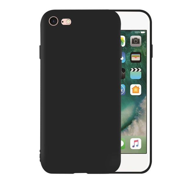 Matte Black Soft Case (iPhone 6/6+)