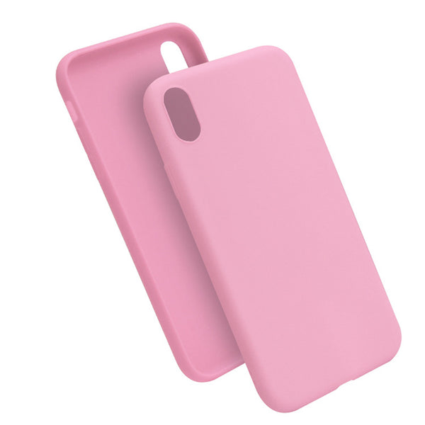 Matte Pink Soft Case (iPhone XR)