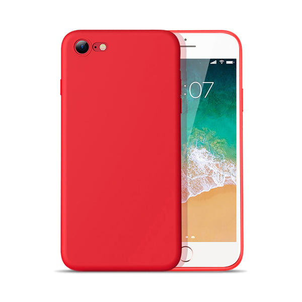 Matte Red Soft Case (iPhone 7/8/SE 2020)