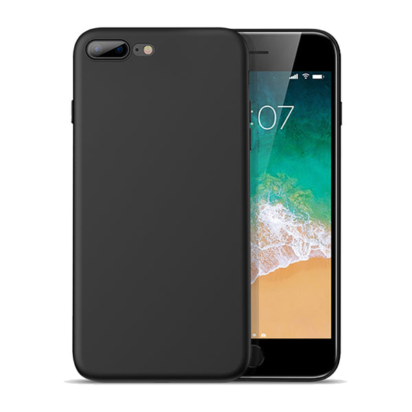 Matte Black Soft Case (iPhone 7+/8+)