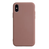 Matte Brown Soft Case (iPhone XR)