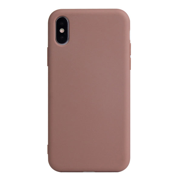 Matte Brown Soft Case (iPhone Xs Max)