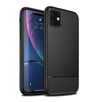 Black Carbon Fiber Case (iPhone 11 Pro)