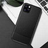Black Carbon Fiber Case (iPhone 11 Pro Max)