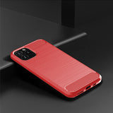 Red Brushed Metal Case (iPhone 11 Pro Max)