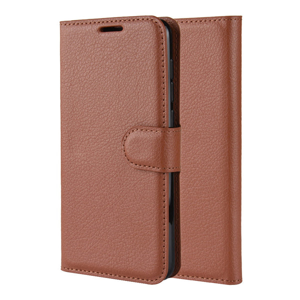 Brown Leather Wallet Case (iPhone 11 Pro Max)