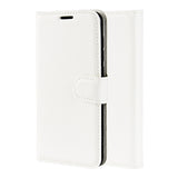 White Leather Wallet Case (iPhone 11)