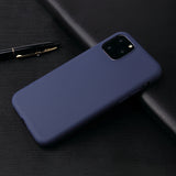 Matte Navy Soft Case (iPhone 11 Pro)