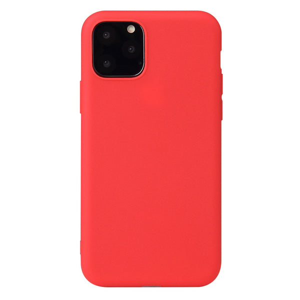 Matte Red Soft Case (iPhone 11 Pro Max)
