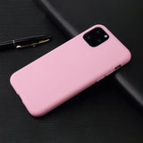 Matte Pink Soft Case (iPhone 11 Pro)