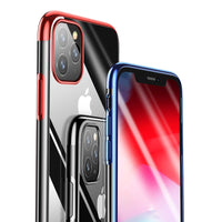 Red Trim Clear Case (iPhone 11 Pro Max)