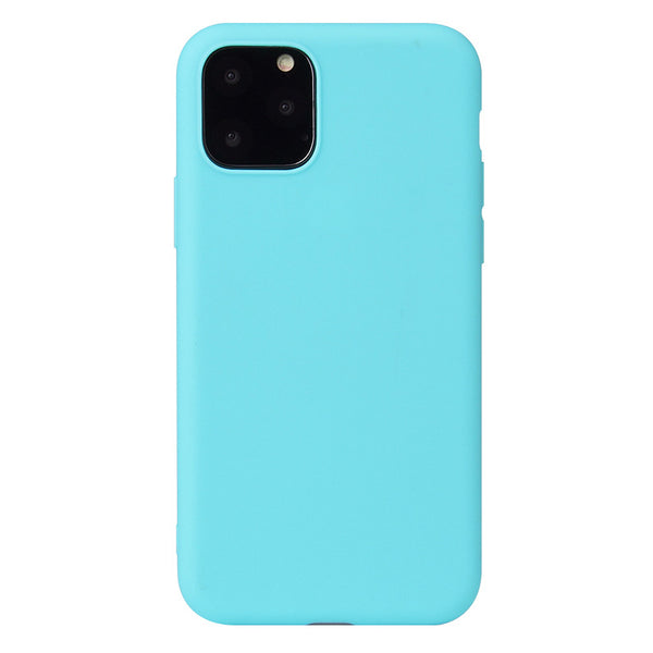 Matte Mint Blue Soft Case (iPhone 11 Pro Max)