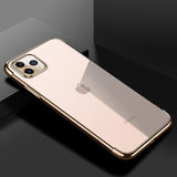 Gold Trim Clear Case (iPhone 11 Pro)