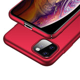 Metallic Red Hard Case (iPhone 11 Pro Max)