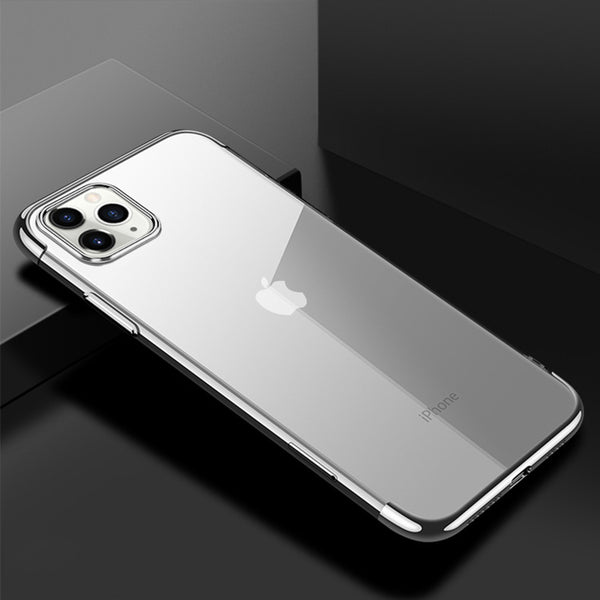 Silver Trim Clear Case (iPhone 11 Pro)