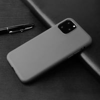 Matte Grey Soft Case (iPhone 11 Pro)