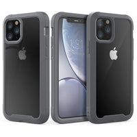 Grey Guardian Rugged Clear Case (iPhone 11 Pro Max)