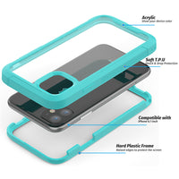 Mint Guardian Rugged Clear Case (iPhone 11)
