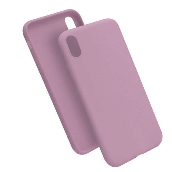 Matte Pastel Pink Soft Case (iPhone XR)