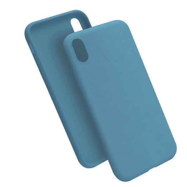 Matte Slate Blue Soft Case (iPhone XR)