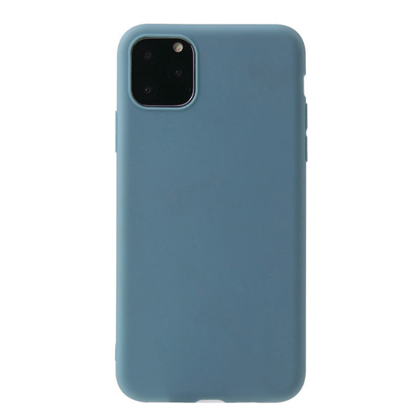 Matte Slate Blue Soft Case (iPhone 11 Pro Max)