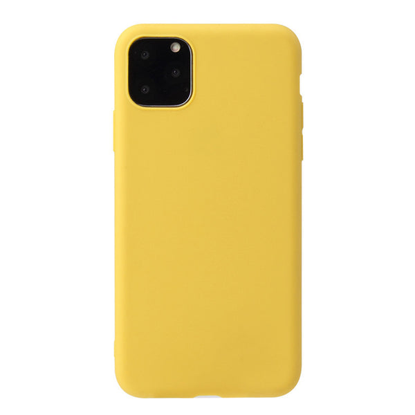 Matte Yellow Soft Case (iPhone 11 Pro Max)