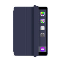 Navy Leather Folio Case with Smart Cover (iPad Pro 12.9-inch 2020)
