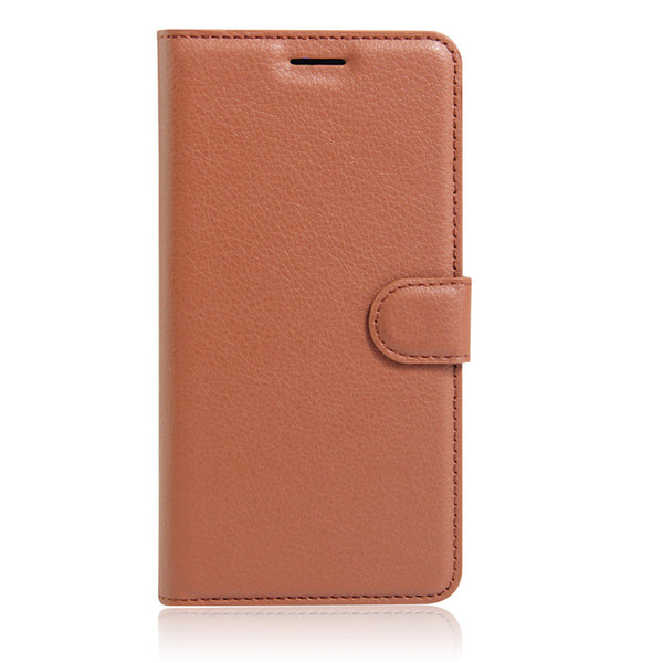 Brown Leather Wallet Case (iPhone 7+/8+)