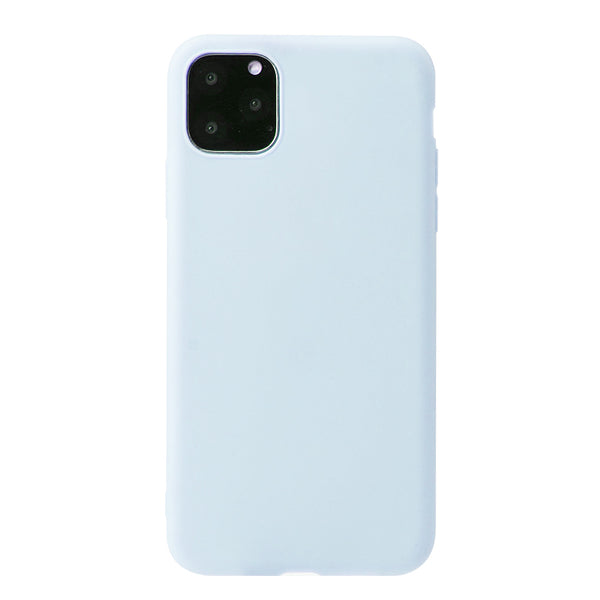 Matte Powder Blue Soft Case (iPhone 11 Pro Max)